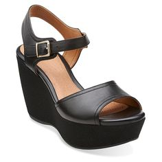 Clarks Women's Nadene Lola *** More infor at the link of image  : Wedge sandals