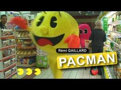 Pac Man - I used to love this game.  Wish I would have thought of this.