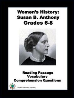 Women's History Month: Susan B. Anthony