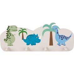 Dinosaur Coat Peg / Hooks ~ Wooden ~ Perfect for Boy's Bedroom / Nursery | eBay