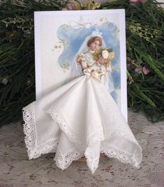 Something Blue Bride by onceuponahanky on Etsy, $10.00