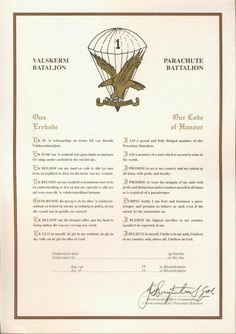 Code of Honour Military Special Forces, Military Service, Military Life, Military History, Airborne Ranger, Army Pics, Parachute Regiment, Army Day, Military Training