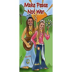 Our 7 foot 4 inch 1960 photo stand it let's you take some groovy, hip pictures and adds a fun activity to your party.