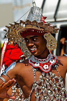 pinnewala dancer  Dambulla, Central, LK,  Sri Lanka