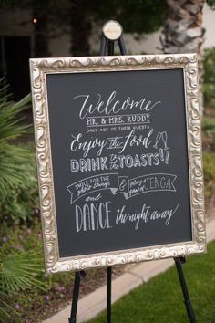 Fun fonts: http://www.stylemepretty.com/california-weddings/palm-springs/2015/05/26/elegant-gold-palm-springs-wedding/   Photography: Brett Hickman - http://bretthickman.com/