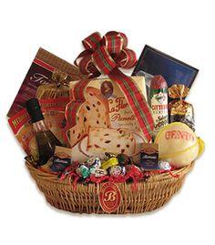 "Gourmet Italian Christmas Gift Basket ""Buon Natale"""