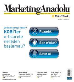 Marketing Anadolu, Aralık sayısı yayında! Hemen okumak için: http://www.dijimecmua.com/marketing-anadolu/     Marketing Anadolu:   1 ay boyunca tüm sayıların dijital üyeliği 5 lira,   3 ay boyunca tüm sayıların dijital üyeliği 12 lira,   6 ay boyunca tüm sayıların dijital üyeliği 18 lira,   12 ay boyunca tüm sayıların dijital üyeliği 30 lira.     Üye olmak için tıkla: http://www.dijimecmua.com/index.php?c=m