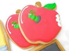Worm in Apple Cookies