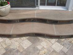 15 Best Travertine patios images | Travertine, Patio, Backyard on Travertine Patio Ideas id=42911