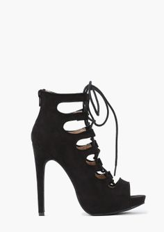 Lexi Lace Up Heel