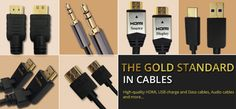 Gold-plated #cables and #connectors from #Lucido offer high-quality signal #fidelity and improved #AVperformance. Ditch the rest and #GoForGold! Check them here: https://www.ooberpad.com/collections/vendors?q=Lucido 🏆