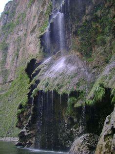 Cascada Cañon del Sumidero
