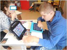 Max kommuniziert mit Bildsymbolen und iPad…