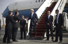 John Kerry in first Egypt visit since Mohamed Morsi was ousted