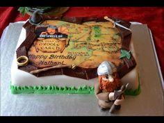 Epic LOTR cake by @pieceofcake_8
