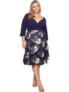 2be7242b73c Kari lyn plus size callie dress