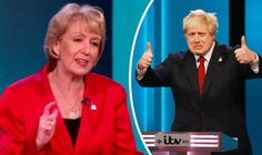 """BRITAIN will """"once again have democracy"""" if it votes to leave the European Union this month, Angela Leadsom said as she tore into the Remain campaign during a referendum debate. Vote Leave, Climate Change, Victorious, Britain, Politics, Leaves, Sayings, Self"""