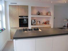 Mooie nisjes en deuren Rustic Kitchen Design, Contemporary Kitchen Design, Home Decor Kitchen, Home Kitchens, Beautiful Kitchen Designs, Beautiful Kitchens, Interior Design Tips, Interior Design Living Room, My Kitchen Rules