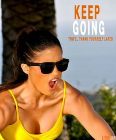 #Motivation will get you started, but habit is what keeps you going. So do your future self a favor - stay strong and keep on! For all your #health & #fitness needs, please visit: www.gymra.com
