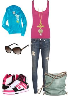 """""""School Outfit Causal"""" by ashleyallaby13 on Polyvore"""