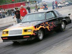 Buick drag racer