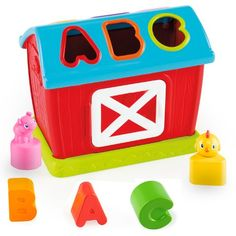 Bright Starts Barnyard Fun Shape Sorter ** See this great product.Note:It is affiliate link to Amazon.