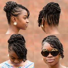 Fascinating #twists #naturalhair Loved By NenoNatural! #curlyhair #kinkyhair #nenonatural #vlogger #blogger #hairblogger