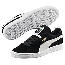 """Back in 1968, the city scene was packed with hot chicks in hot pants and tall boys in basketball shorts. That was when PUMA first lit a fire under culture's keister with the Suede silhouette. The industry rebel that said """"nay"""" to ordinary leather, the Suede was a warm-up shoe made infamous by athletic greats such as basketball's Walt """"Clyde"""" Frazier and the track's Tommie Smith. It hit new levels of fame during the '80s dawn of b-boys and hip hop beats, taking over New York City blocks…"""