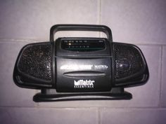 Mini  Radio  Portatile  Usata  in  Buone Condizione con normali segni di usura anni 90 di affaryonline su Etsy