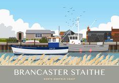 Bran caster Staithe, Norfolk