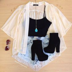 casual jean outfits for summer Teen Fashion Outfits, Mode Outfits, Cute Fashion, Outfits For Teens, Fashion Ideas, 90s Fashion, Cute Diys For Teens, Fashion Clothes, Fashion Casual