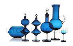 Nanny Still design Glass Vessel, Glass Art, My Favorite Color, My Favorite Things, Cutlery Set, Glass Design, Scandinavian Style, Traditional Art, Wine Glass