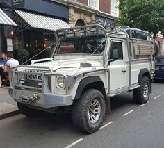 Only in London would you find an adventure mobile as perfect as this.