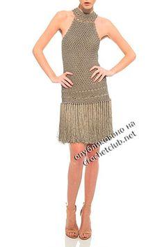 Free Crochet Pattern платья крючком от ванессы монторо 5