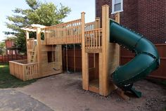 Dream outdoor wood play set to build