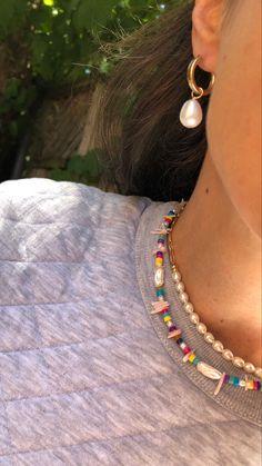 Cute Jewelry, Modern Jewelry, Pearl Jewelry, Beaded Jewelry, Jewelery, Jewelry Accessories, Handmade Jewelry, Beaded Bracelets, Trendy Jewelry