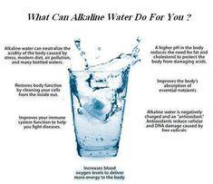 Alkaline water. Carlsbad alkaline water .60 a gallon!