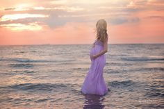 Maternity Beach Photography - Ruth Young Photography
