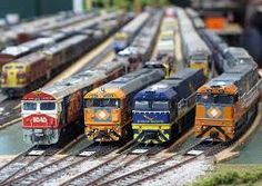 Wallerawang - great Ozzie model train layout - check in out online