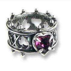 Alchemy gothic ring
