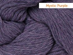 Cascade 220 Yarn - Mystic Purple Craftsy Winding Ways Mitts - fingerless gloves