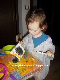 Painting with bobble wrap Reggio Emilia, Activities To Do, Cool Kids, Paper, Fun, Painting, Bubbles, Paper Envelopes, Games