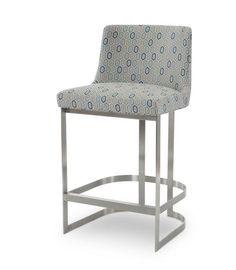 Shop the Copenhagen Stainless Bar Stool by Century Furniture at Furnitureland South, the World's Largest Furniture Store and North Carolina's Premiere Furniture Showroom. High Quality Furniture, Large Furniture, Furniture For You, Dining Room Furniture, Brass Bar Stools, Swivel Bar Stools, Counter Stools, Upholstered Bar Stools, Furniture Showroom