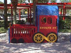 PlayShaper Train Engine Playground