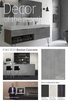 Decor of the month Gray Bathroom Walls, Bathroom Wall Art, Grey Bathrooms, Bedroom Color Schemes, Bedroom Colors, Islamic Wall Art, Concrete Kitchen, Paper Flower Wall, Photo Wall Art