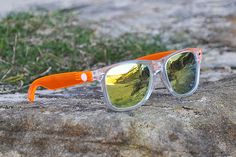These Affordable Designer Sunglasses Reflect an Actual Moment in Time #design trendhunter.com