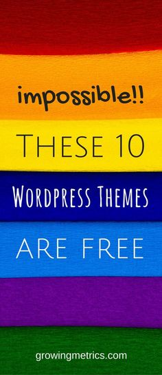 here's the list of 10 best free wordpress themes for 2017, these are quite impossible to be seen as free | wordpress themes