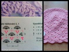 Chrochet, Crochet For Kids, Lace Knitting, Baby Hats, Baby Dress, Projects To Try, Crochet Patterns, Crochet Hats, Berets