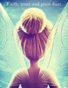 I pinned this because. it is a beautiful image and tinker bell reminds me of my niece. She LOVES tinker bell, and has made her mommy like it too.