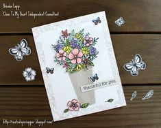 Crafting for sanity? Or insanity?: CTMH For My Beautiful Friend SOTM Blog Hop - July 2020 Stamp Pad, My Stamp, My Beautiful Friend, Flower Market, Heart Cards, Close To My Heart, Cricut Design, Homemade Cards, Card Stock